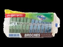 BROCHES PLASTICOS x12u
