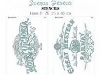 STENCIL BD F/RECTANGULAR 30x40cm
