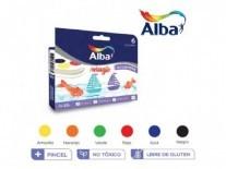 ACUARELAS ALBA X 6 BLISTER