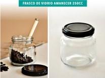 FRASCO VIDRIO 250A/AMANECER 250cc T63