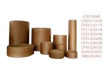 POTE CARTON CP03 RED (150x155mm)PLASTIF