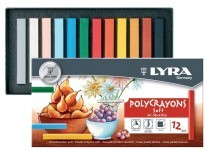 TIZA PASTEL LYRA POLYCRAYONS x12