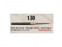 PINCEL AD REDONDO S130 N0 SINT M CORTO