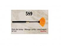 PINCEL AD ABANICO S589/08 PELO SINTETICO