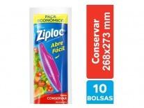 ZIPLOC BOLSA CONSERVA GRANDE 10un