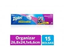 ZIPLOC BOLSA ORGANIZAR GRANDE 15U